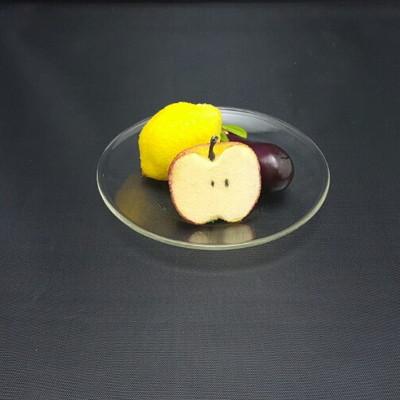 (1+1) 고급 내열유리 컵받침 및 접시