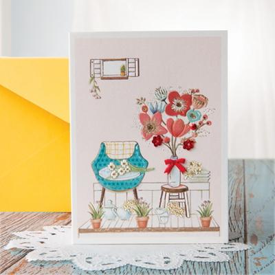 꽃 카드 FT1036-5