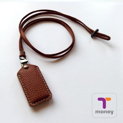 티머니 가죽포켓 . T-money Leather Pocket (티머니칩포함)