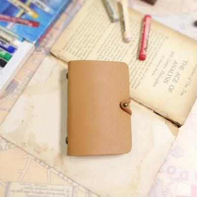 Card Purse_Simple Multi Pocket (Arabia Sand)