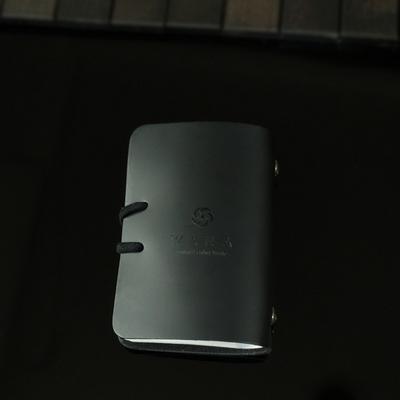 Card Purse_Simple Multi Pocket (Sleek Black)