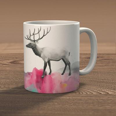 워터컬러사슴(deer20)
