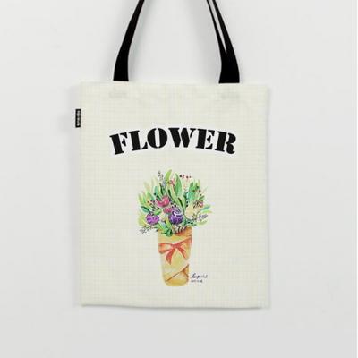 작은 꽃다발 에코백 by 이그린(263618)