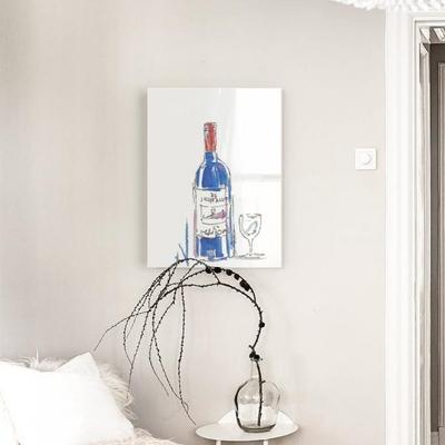 와인한잔할까요 아크릴 일러스트 그림액자by마르피(219220)