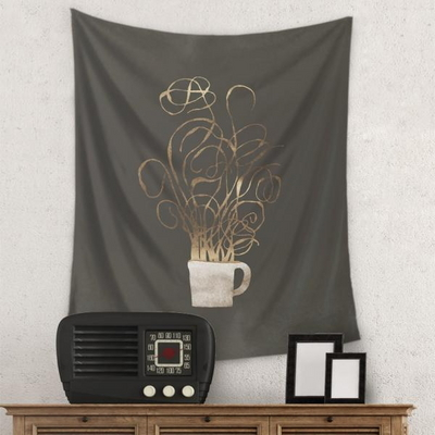 커피 향기 태피스트리by11010design (468458)