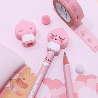 카카오프렌즈 실리콘 연필캡