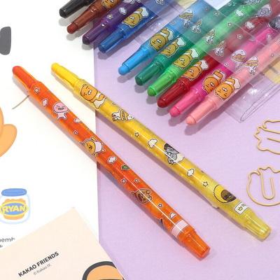 카카오프렌즈 색연필종합장세트