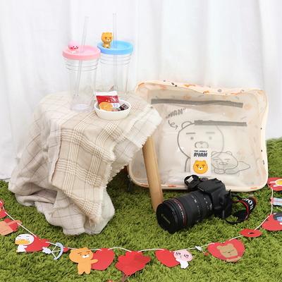 카카오프렌즈 로맨틱 캠핑 세트