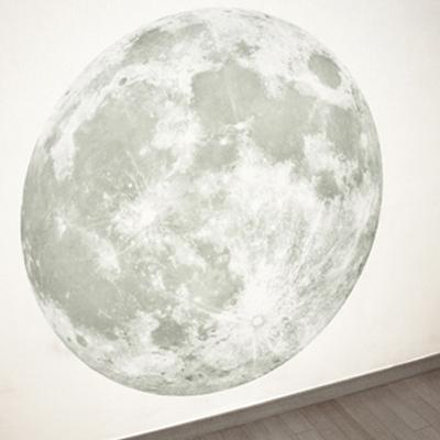 신비의달 Clair De Lune (야광달 월스티커) - Large