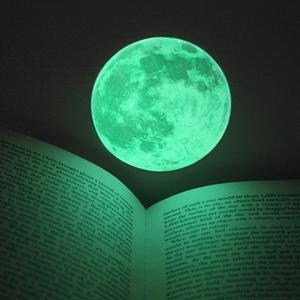 신비의달 Clair De Lune (야광달스티커) - Small