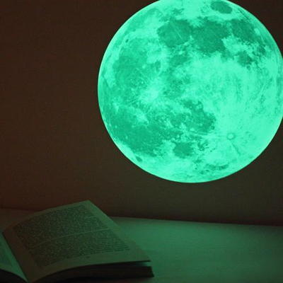 신비의달 Clair De Lune (야광 달스티커) - Medium