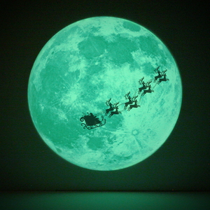X-Mas특집 크리스마스의 달빛 Christmas Moonlight (야광 달스티커)