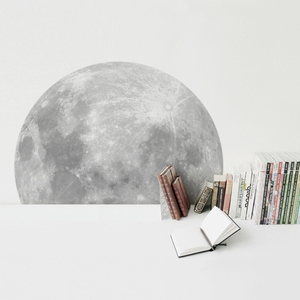 환상의달 A Trip To The Moon (100cm보름달천체사진월스티커)