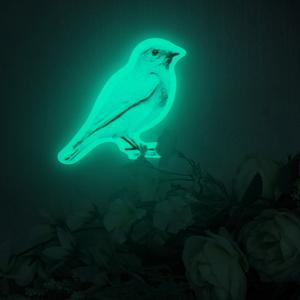 파랑새의정원 BLUEBIRD GARDEN (야광 블루버드스티커)
