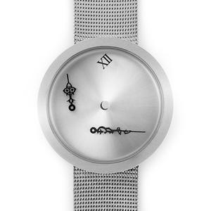TIMEnSPACE - Zero-Gravity Watch (ver.ModernSilver)