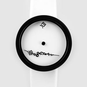 TIMEnSPACE - Zero-Gravity Watch (ver.ModernWhite)