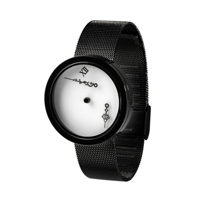 TIMEnSPACE - Zero-Gravity Watch (ver.ModernBlack)