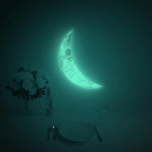 환상의달빛 LUNA CRESCENT (야광초승달 월데코스티커)