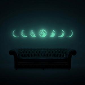 달빛여행 MOONLIGHT JOURNEY (야광달 월데코스티커)