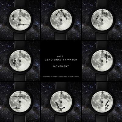 우주의시간 Zero-Gravity Watch (ver.Moonlight III - leather strap)