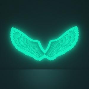자유감성 ANGELWINGS (야광 천사날개스티커) XS size