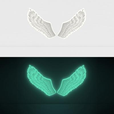 자유감성 ANGELWINGS (야광 천사날개스티커) S size