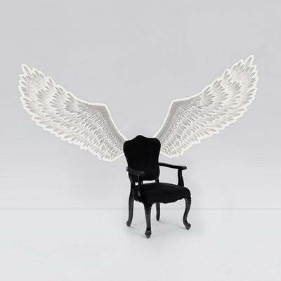 자유감성 ANGELWINGS (야광 천사날개스티커) M L XL size