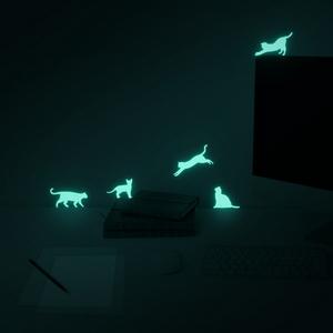 문라잇캣츠 MOONLIGHT CATS (야광 고양이 스티커)