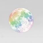 레인보우문 CLAIR DE LUNE - RAINBOW (야광 레인보우문 스티커)