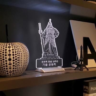필렉스 3D LED 라이트 - 메시지 각인