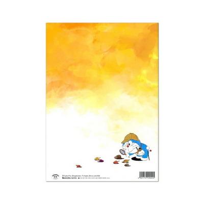 쇼와노트 컬러링북 컬렉션 도라에몽 24절기