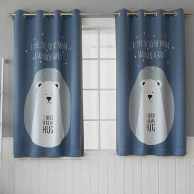 BHF 앨리스 블루베어 암막 창문커튼 2장(260x170cm)