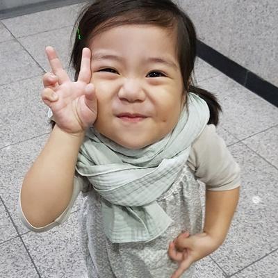 삼중거즈 간절기 유아동 머플러 스카프빕