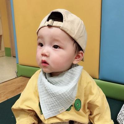 유아 삼중 거즈 남아 3종세트 사계절 아기 스카프빕