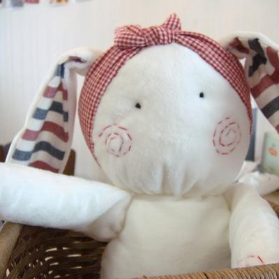 날아라미쎄스깡 토끼엄마 극세사 애착인형 만들기 35cm 솜포함