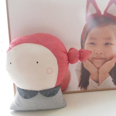 날아라미쎄스깡 언니오빠쿠션 만들기 패키지 35cm 솜포함 3종류