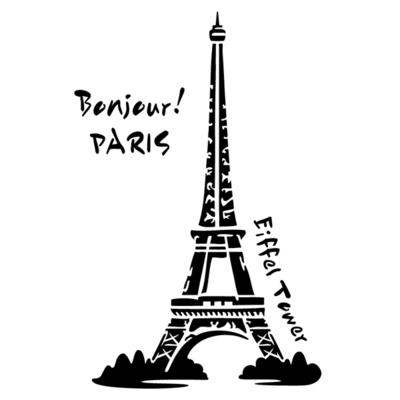 블랭코 스텐실도안604 에펠탑