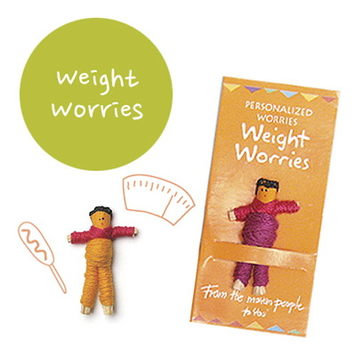 Weight Worries 꼬마 전문가 걱정인형