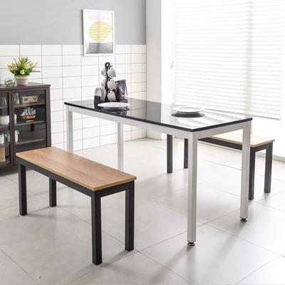 T7 강화스틸 1500 업소 주방 디자인 철제 식탁세트