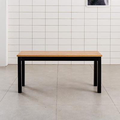 T10 강화스틸 인테리어 디자인 벤치 식탁의자 2인용 철제의자