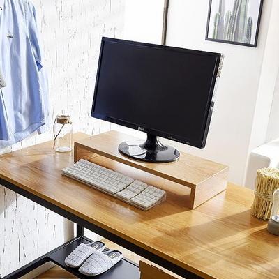강화유리 모니터 받침대 모니터선반 책상정리 (T22)