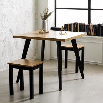 스틸 인더밴 식탁 시리즈 철제테이블 주방 테이블책상