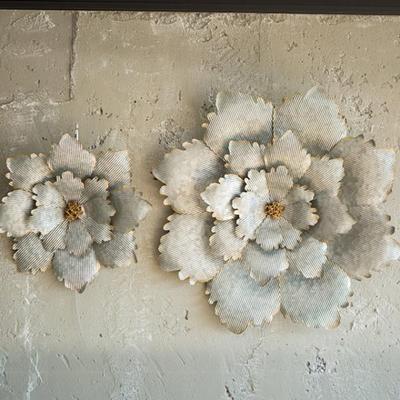JD6-32 빈티지 꽃잎 벽장식