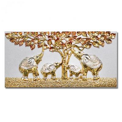 GD2-4B 황금수 코끼리 부조액자