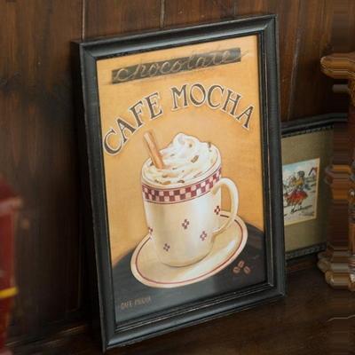 EJ-Q22 커피그림 액자_카페모카 1p