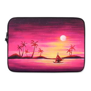 Island sunset (14-15형)_노트북파우치