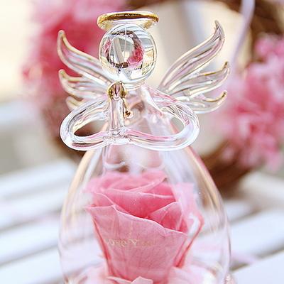 더봄프리저브드플라워-핑크유리천사