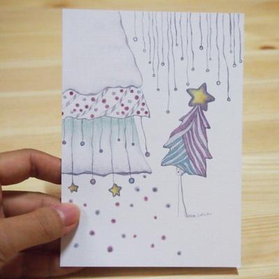 꿈꾸는나무_크리스마스 엽서