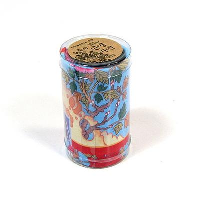 민화안경닦이-모란나비