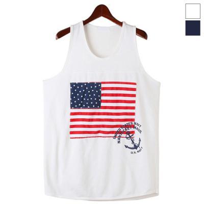 American Flag Sleeveless